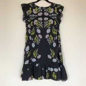 Cynthia Rowley Floral Babydoll Dress